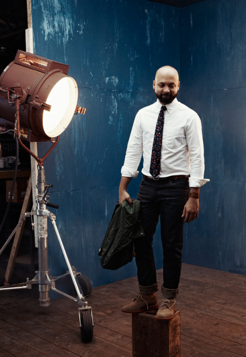 Great shot of Raleigh Denim in Indigo & Cotton's Fall/Winter Shop Lookbook.More here.