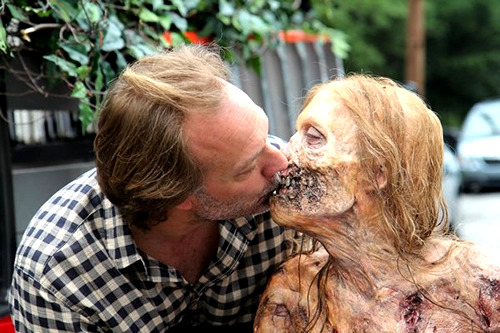 the-walking-dead-amc:  I ship it.  Wow, Greg Nicotero really LOVES his work!!!