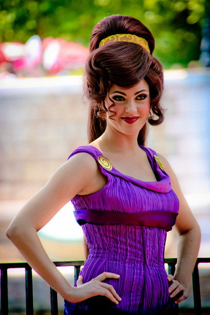 -disneyparks:  Megara by abelle2 on Flickr.