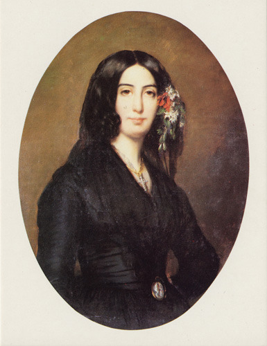fuckyeahhistorycrushes:  George Sand wore men's clothing, smoked, dated Chopin, and doesn't afraid of anything.