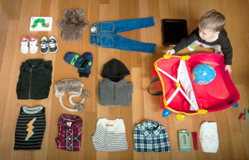 my children WILL be this organized thingsorganizedneatly:  SUBMISSION: Baby takes a trip