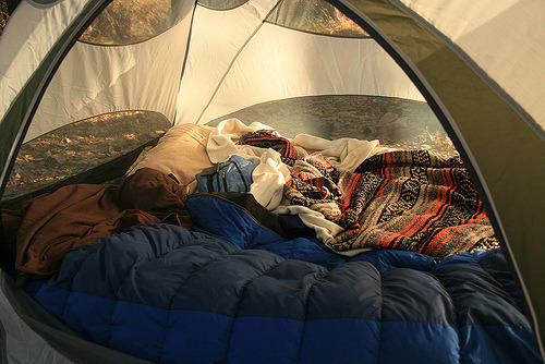 blondiesbrain:  I'll only go camping with you if I get to stay in a tent similar to this for the entire time.