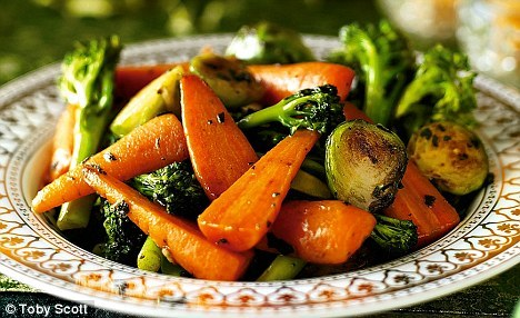 Easy Christmas Veg. Click through for recipe. Possibly doing this and mashed swede for christmas veg.