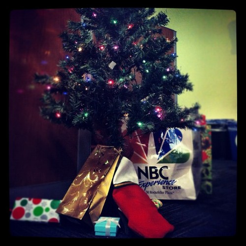 A nice haul for theGrio/NBC Latino Christmas party! (Taken with instagram)
