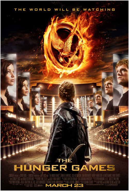 NEW HUNGER GAMES POSTER!