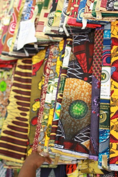 wax & yards Nigerian print fabric