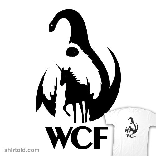WCF - The World Cryptozoological Foundation available at ThinkGeek