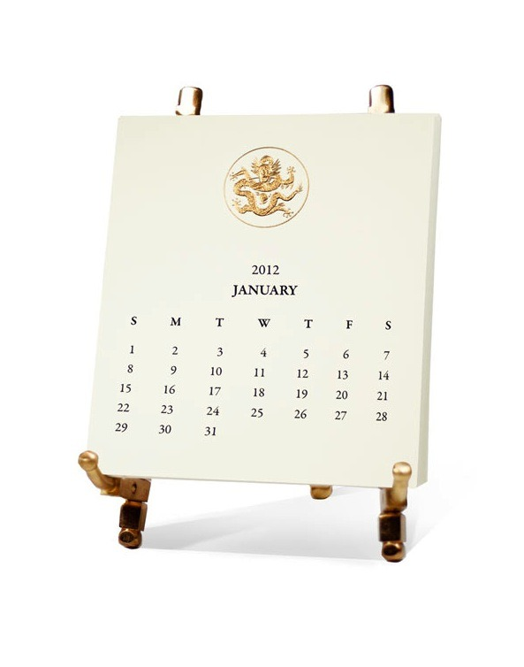 nomad-chic:  Classic Calendar Set 2012 by Mrs. John L. Strong