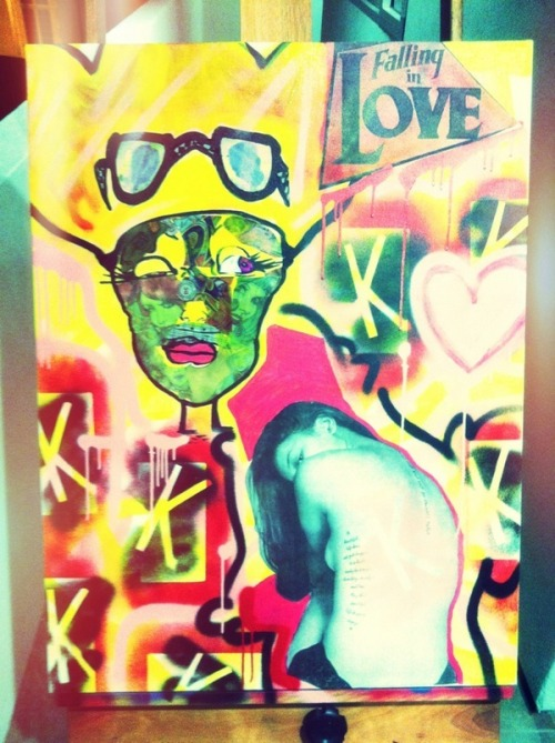 Love vs. Falling in Love awwww … Chris Brown did this. He is so talented.