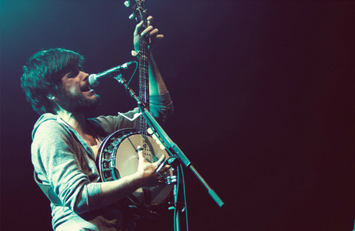mumsessed:   Winston Marshall of Mumford & Sons performs at LIVE 105's Not So Silent Night in Oakland, California | December 9, 2011 Photo by Patrick Concepción