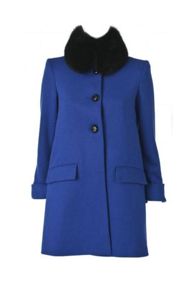 The Princess Coat Emulate the chic spirit in a buttoned-up style with luxe collar or polished pattern. from Alice & Olivia  via ELLE