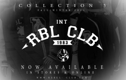 International Rebel Club NOW AVAILABLE in store and Online! BUY NOW!! www.rebel-club.com