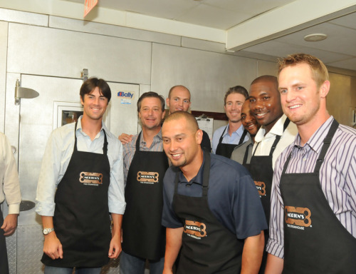 Phillies at the Ryan Howard 1st Annual Celebrity Waiter Event (July 2010)