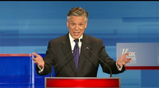 Jon Huntsman implied that immigrants no longer view America as a land of opportunity. So is the illegal immigration issue just a red herring?