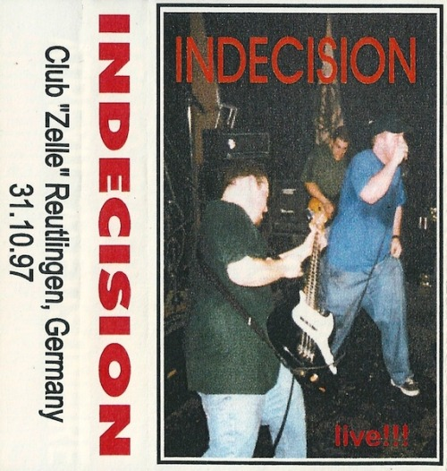 "A friend of ours just sent us mp3s of this tape from 1997. Some awkward stage banter since NO ONE spoke any English. Funny to hear things like ""This is a new song called Dream Come true."" If anyone is interested in hearing it, give us a shout here."