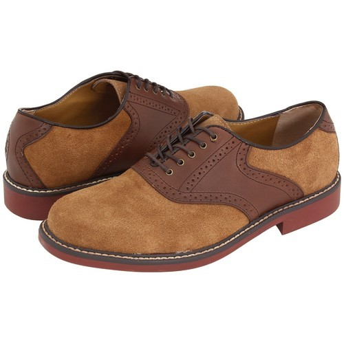 Bass Buchanon Taupe/Dark Brown Leather - Zappos.com Free Shipping BOTH…   (clipped to polyvore.com)