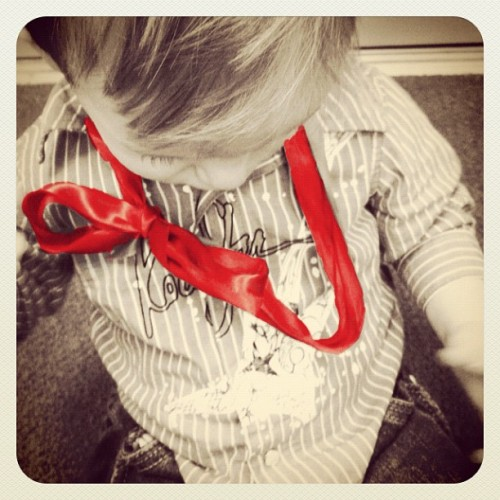 #baby #bow (Taken with instagram)