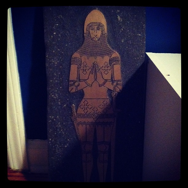 Brass Knight (Taken with instagram)