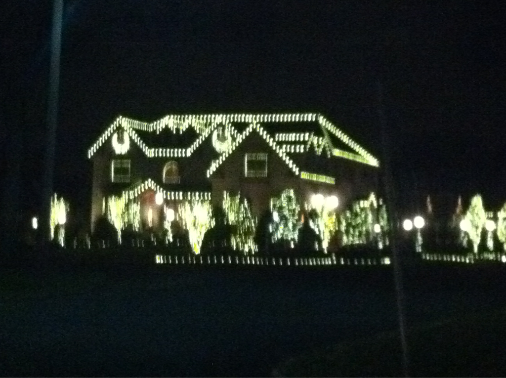10 days til Christmas!!!!!!!!  (Ps this isn't my house)