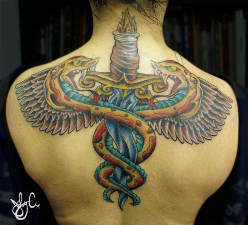 an awesome Caduecus i did on Sabrina