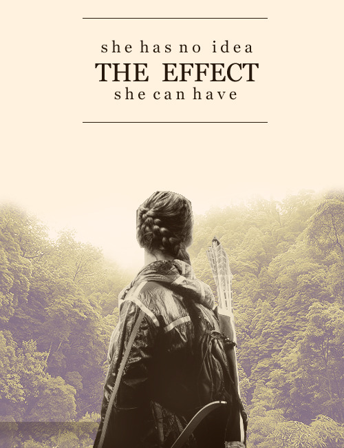 """She has no idea the effect she can have"" #Hungergames!!"
