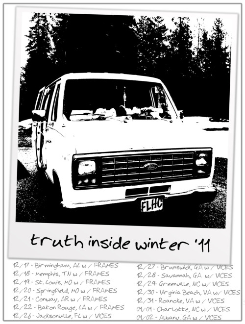 unholy666:  mobarton:  dcannn:  Truth Inside Winter Tour w/ Frames, Vices http://www.facebook.com/truthinside Tour starts TODAY