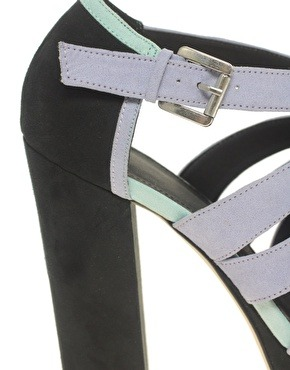 ASOS HAMPTON Platform Colour Blocked Sandal at ASOS hmmm… so tempted.