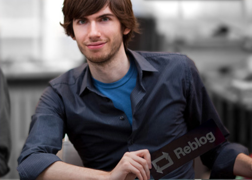 heartieelicious:  David Karp, the daddy of tumbleloggers.