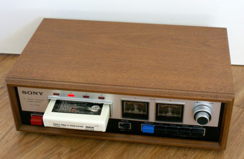 Sony 8 Track Recorder/Player Model TC228 1973