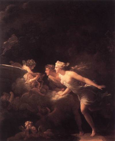 mrscaravaggio:  Jean-Honoré Fragonard - The Fountain of Love - 1785