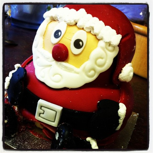 Santa cake from ASDA (Taken with instagram)