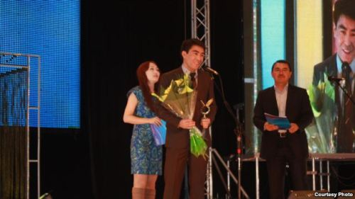 25-Year Old Kyrgyz Broadcaster Wins Regional Awards Janarbek Akaev just turned 25, but he's already earning plaudits from around Central Asia for his impressive work in broadcast journalism. On December 13, Akaev — a television broadcaster for RFE/RL's Kyrgyz Service, Radio Azattyk — was voted Kyrgyzstan's best TV presenter for 2011.[READ MORE]