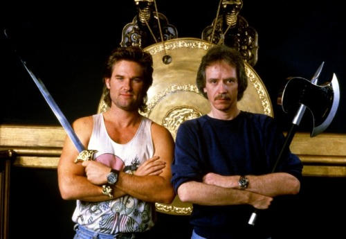 Kurt Rusell y John Carpenter, dando el golpe en la Pequeña China…