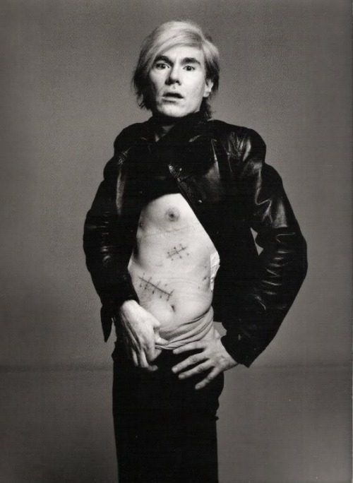"""Art is What you can get away with"" -Andy Warhol :: Photo by Richard Avedon"