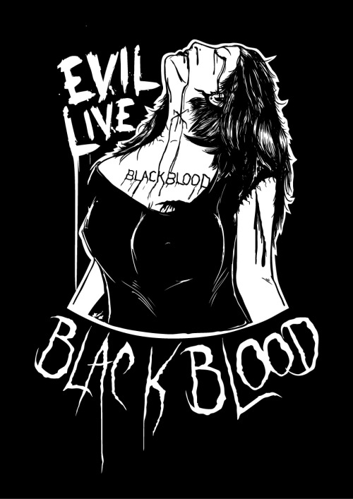 Design for Tees  MRS Evil Live : Black Blood Rock Festival 2011 : 23 DEC 2011