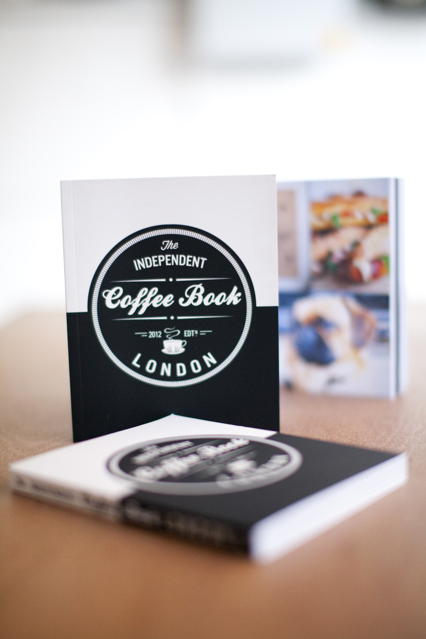 THE INDEPENDENT COFFEE BOOK HAS LANDED! Available now priced £10 from London cafes including: Taylor St. Baristas (Mayfair, Bank, Richmond & Brighton), St. Ali, Prufrock Leather Lane, Notes (Covent Garden & Trafalgar Sq.), Espresso Room, Kaffeine, DunneFrankowski @ Protein, Nude Espresso, Dark Fluid, Federation Coffee, Flat Cap Coffee Co. (Strutton Ground & Fleet St.), Browns of Brockley. From Brighton coffee shops: Small Batch Coffee Co., Marwood, Ground Coffee Houses, Taylor St. Baristas and Coffee @ 33. Also available online (wholesale and retail) at CoffeeHit http://www.coffeehit.co.uk/the-independent-coffee-book-london/p921