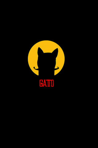 Gatto wallpaper for Iphone