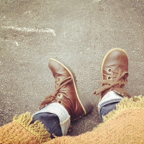 Recycled fall outfit (Taken with instagram)