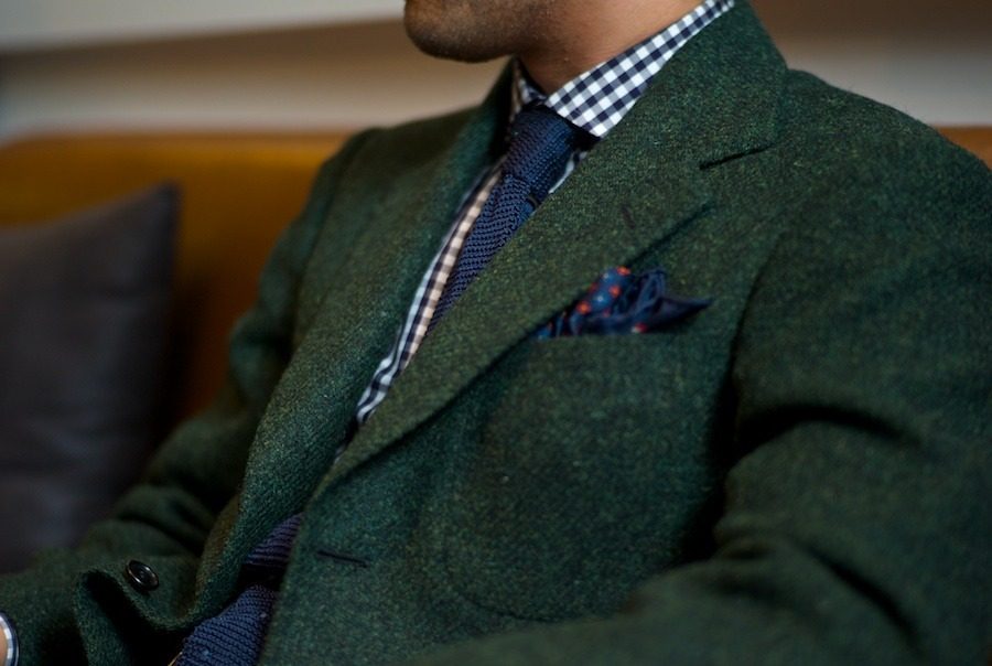 Shyouruken.tumblr.com in his green Liverano Tweed.
