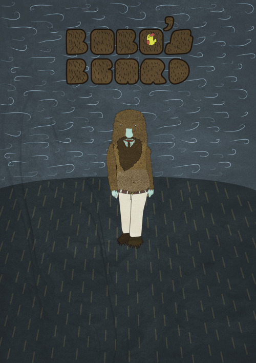 Bobo's Beard Cover Design.