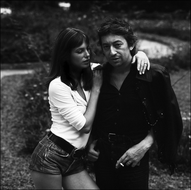 theimpossiblecool:  Jane & Serge.