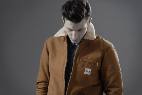 (via End Clothing: A.P.C. x Carhartt 2012 Spring/Summer Lookbook | Hypebeast)