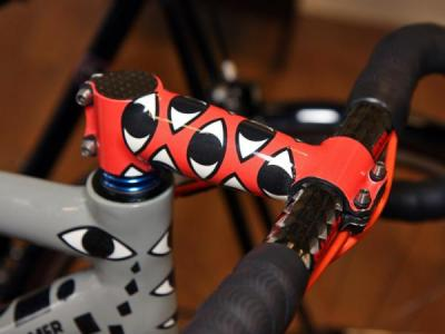 AX-Lightness stem is painted to match on this Ruegamer (via Photos | Cyclingnews.com)