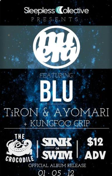 getwiditgetlifted:  WE'RE OPENING FOR BLU JAN 5th!! ALL AGES @ THE CROCODILE!!! SLIDE THRU, WE BOUT TO BLOW THIS SHIT UP!  Nu Era, Blu & Kung Foo Grip are putting on an awesome show at @thecrocodile! Make sure to check it out!