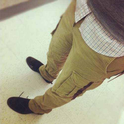 Slim cargo pants.. Not sure (Taken with instagram)