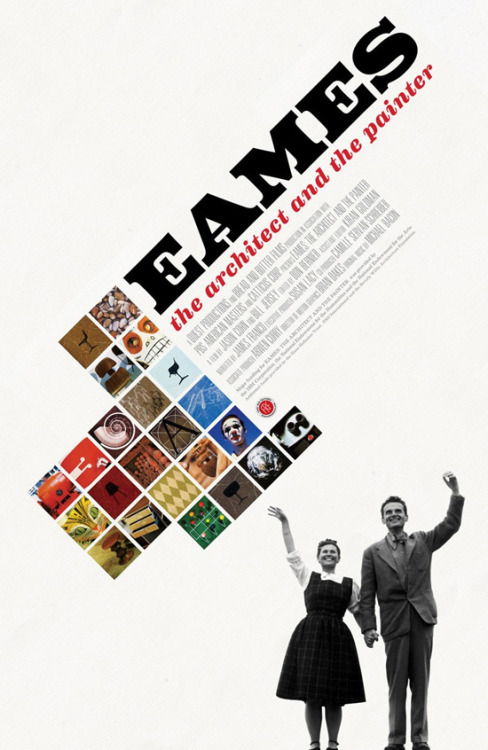 Eames: The Architect & The Painter(Monday Dec. 19, 10-11:30 p.m. (ET/PT) on PBS)  (via The FontFeed)