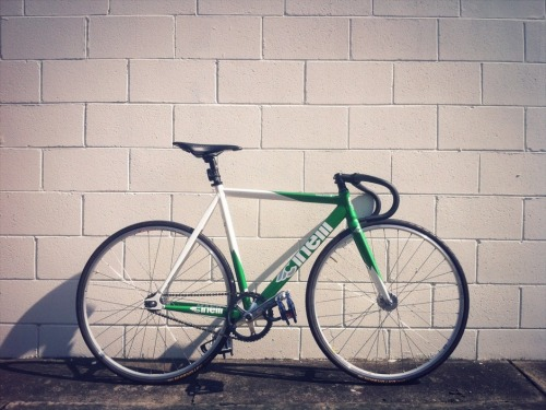 Green Cinelli Mash by Julius via Pedal Room