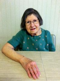 "This is the face of the new voter ID law. Ruth Frank has voted in every election since 1948, but next year, she could be turned away at the ballot box. Ruth has never had a driver's lisence or a birth certificate, and because she lacks both, she has been unable to get a state identification card. She has lived in the same house for nearly her whole life and become a fixture in her small town, where she serves on the Village Board and donates her small salary to providing things like a swing set, flowers, a display for an old church bell and Christmas decorations for the community. According to the newspaper, a record of Frank's birth does exist with the state register of deeds in Madison. She could get a birth certificate for a fee, $20. But Frank said that fee amounted to a poll tax. There's another problem. Frank's maiden name of Wedepohl was misspelled by the physician who attended her home birth. To get the birth certificate amended, she could petition the court, a process that could take several weeks and cost at least $200, the newspaper said. Now, she is a plaintiff in the ACLU's lawsuit challenging the law. The real irony? Next year, Ruth hopes to run for reelection to the Village Board. Unless the new law is overturned, Ruth says, ""I won't be able to vote for myself."""