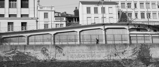 No Border No Nation, Lyon France by mafate69 on Flickr.