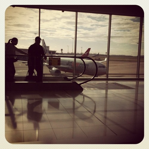 laaaaters sydney! (Taken with Instagram at Sydney International Airport (Departure))